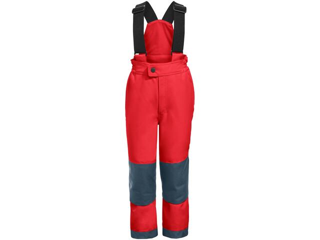 VAUDE Snow Cup III Pantalones Niños, mars red